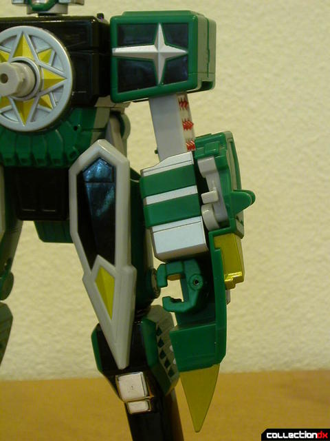 Deluxe Samurai Star Lightning Megazord -Megazord Mode (left arm detail)