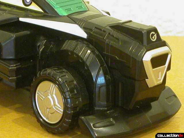 Engine Gattai Series 2- Engine Gunpherd (muzzle and front wheels detail)