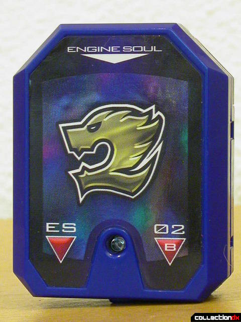 Buson's Engine Soul (included with the Self Henkeijuu MantanGun set)