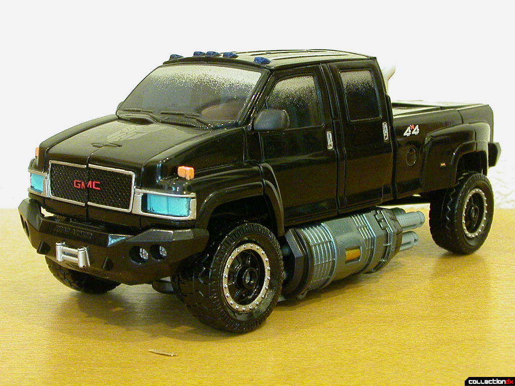 Premium series Autobot Ironhide- vehicle mode (front)