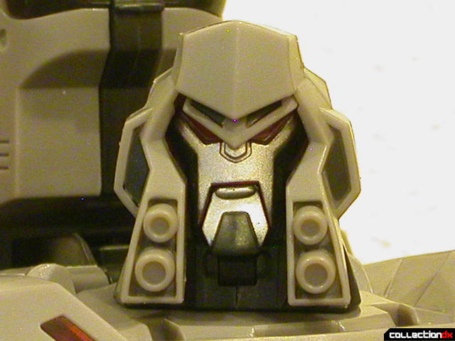 Decepticon Megatron- robot mode (head detail)