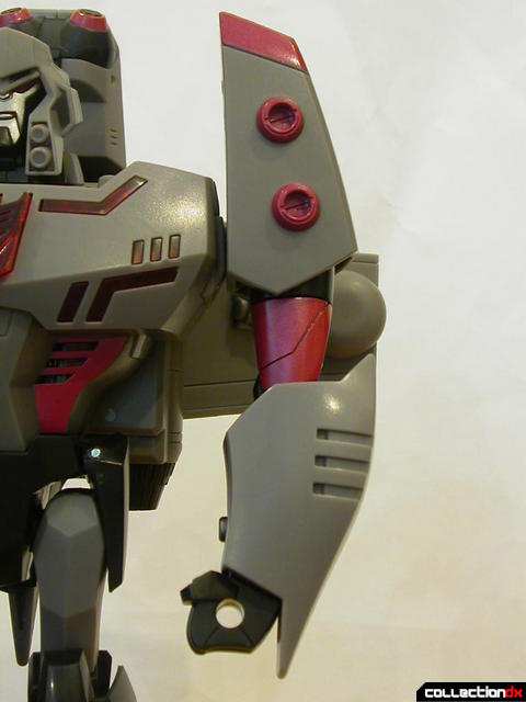 Decepticon Megatron- robot mode (left arm detail)
