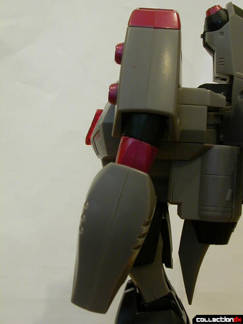 Decepticon Megatron- robot mode (left arm detail, elbow pointed outwards)