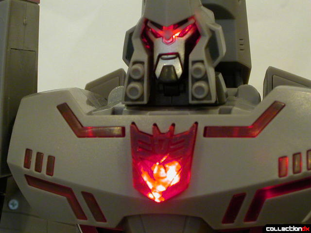 Decepticon Megatron- robot mode (light-and-sound activated)