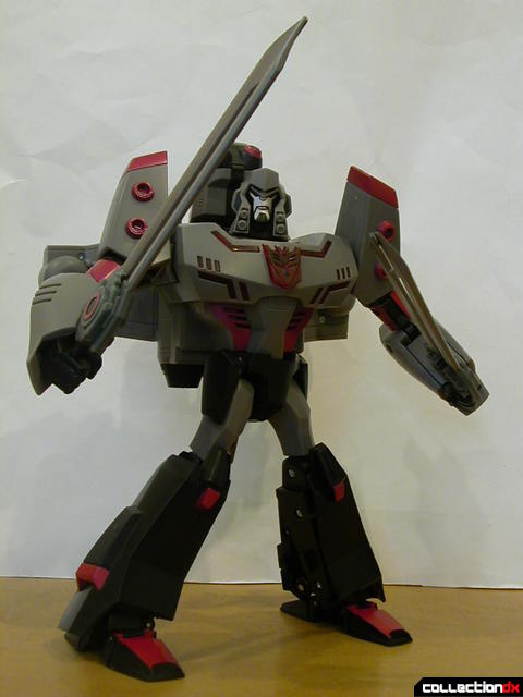 Decepticon Megatron- robot mode posed (1)