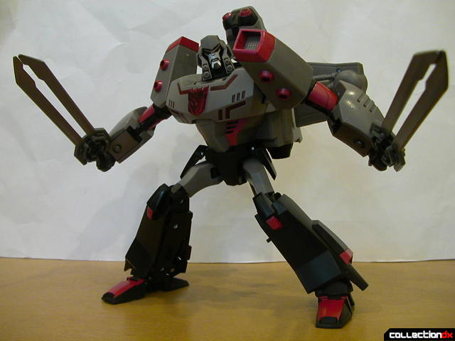 Decepticon Megatron- robot mode posed (2)