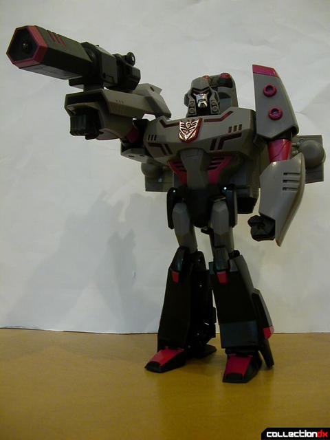 Decepticon Megatron- robot mode posed (3)