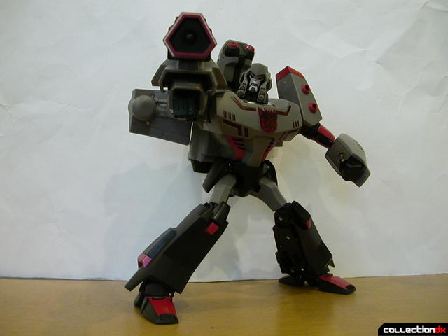 Decepticon Megatron- robot mode posed (4)