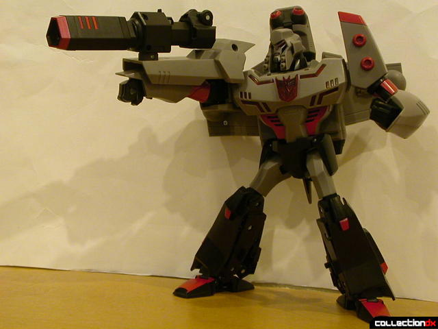 Decepticon Megatron- robot mode posed (5)