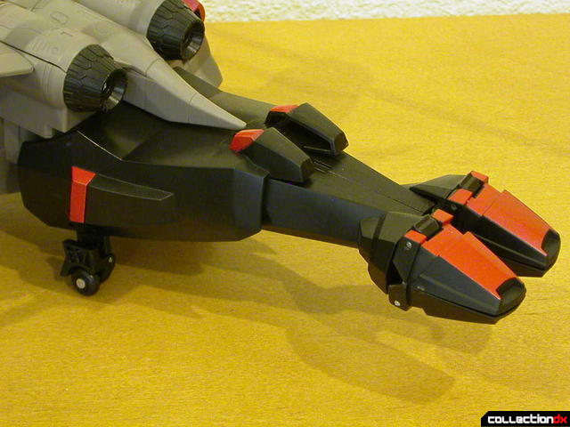 Decepticon Megatron- vehicle mode (back helicopter boom detail)