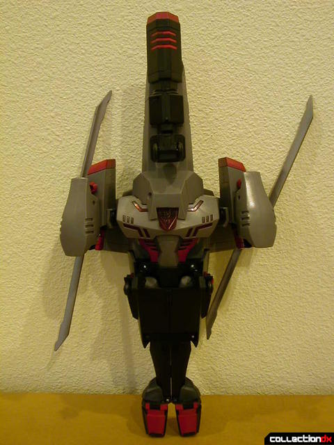 Decepticon Megatron- vehicle mode (bottom view)