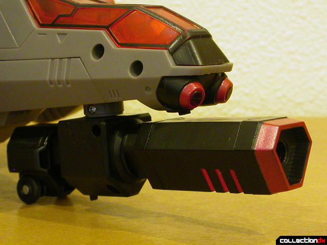 Decepticon Megatron- vehicle mode (fusion cannon turret detail)