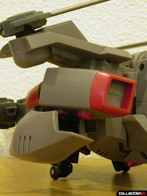 Decepticon Megatron- vehicle mode (missile launcher detail)