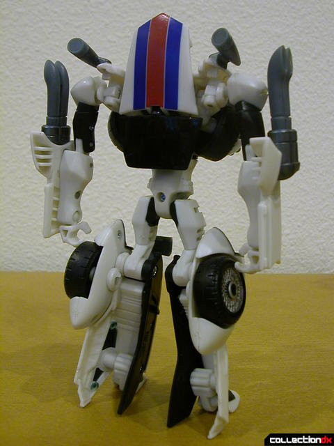 Autobot Jazz- robot mode (back)