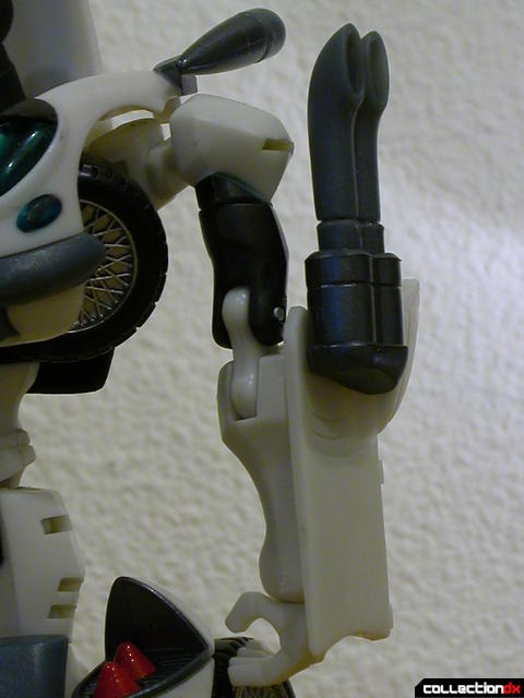 Autobot Jazz- robot mode (left arm detail)