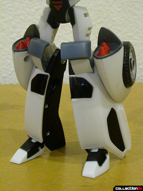 Autobot Jazz- robot mode (legs detail)