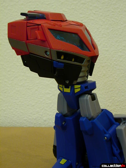 Autobot Optimus Prime- resetting Auto-conversion feature (1-3)