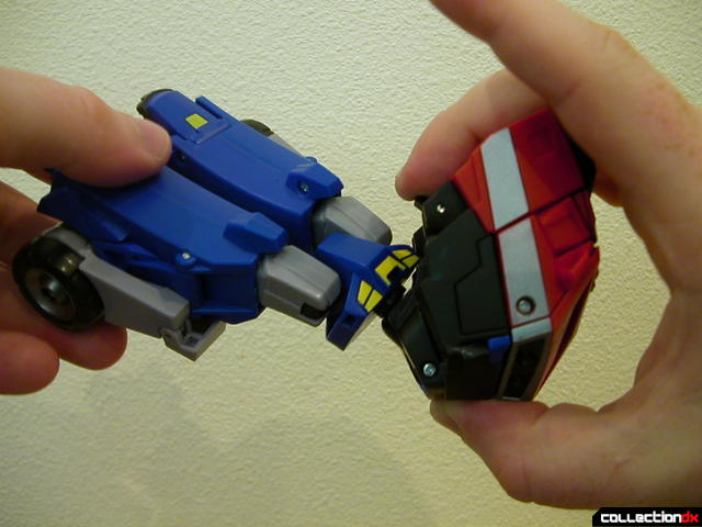 Autobot Optimus Prime- resetting Auto-conversion feature (3-3)