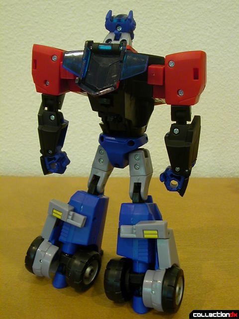 Autobot Optimus Prime- robot mode (back)
