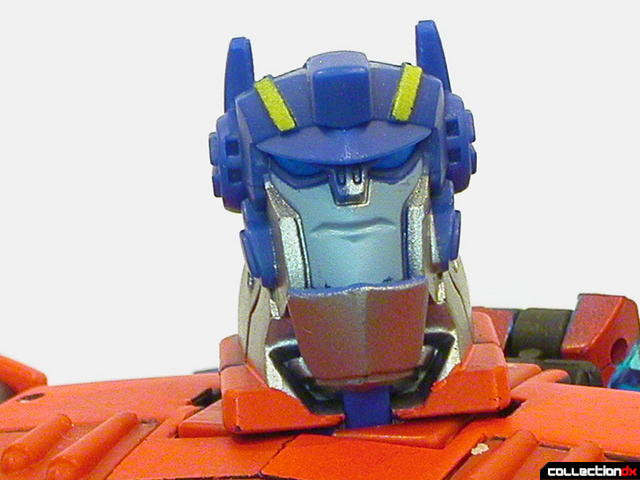 Autobot Optimus Prime- robot mode (head detail, normal)