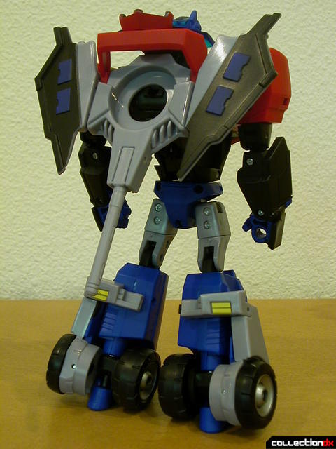 Autobot Optimus Prime- robot mode (Ion Ax attached to back)
