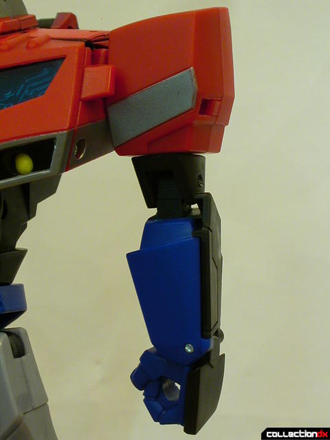 Autobot Optimus Prime- robot mode (left arm detail)