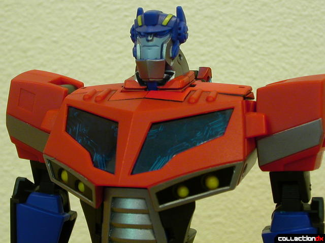 Autobot Optimus Prime- robot mode (upper torso detail)