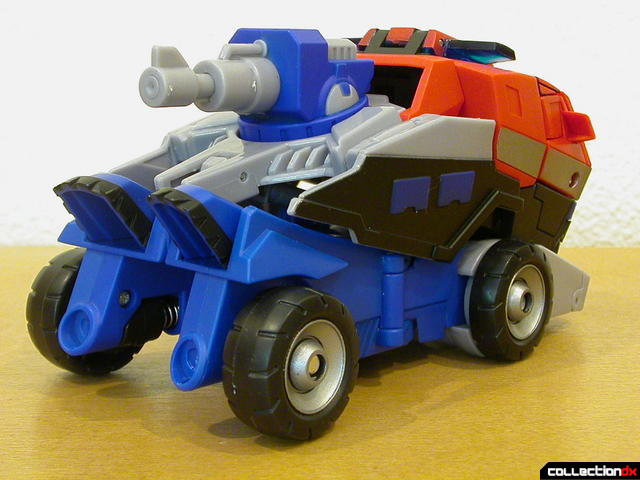 Autobot Optimus Prime- vehicle mode (back, with top section)