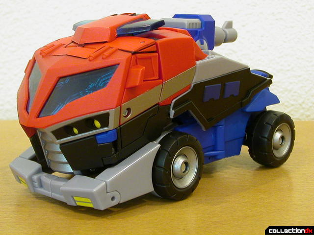 Autobot Optimus Prime- vehicle mode (front, with top section)