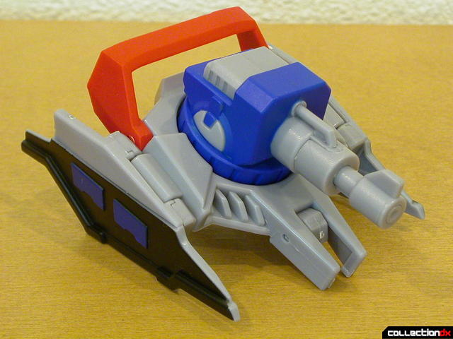 Autobot Optimus Prime- vehicle mode (top section detail)