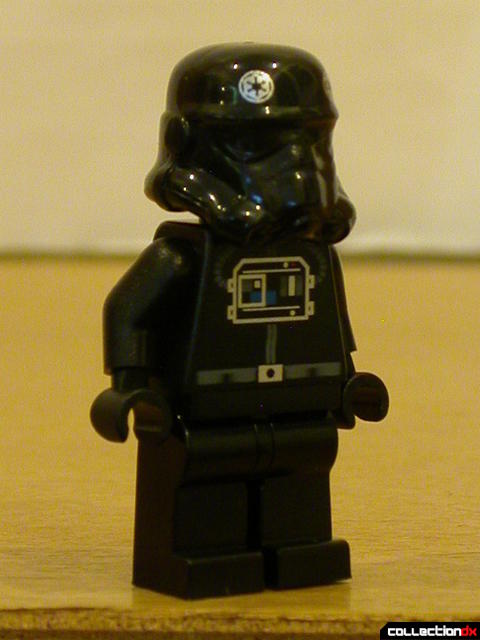 Imperial Landing Craft- minifigs detail (Imperial Pilot, front)