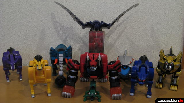 Transforming Fury Megazord Set- all Spirit Zords together (2)
