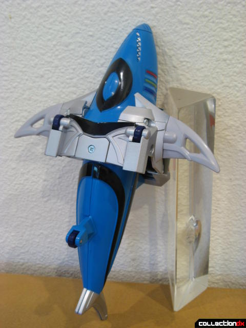 Transforming Fury Megazord Set- Cyan Shark (bottom detail)