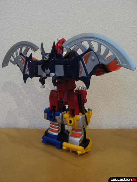Transforming Fury Megazord Set- Jungle Pride Megazord with Bat Power (back)