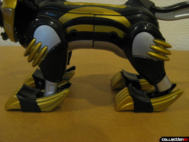 Transforming Fury Megazord Set- Lion (legs detail)
