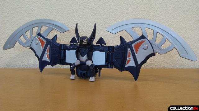 Transforming Fury Megazord Set- Violet Bat Spirit Zord (front)