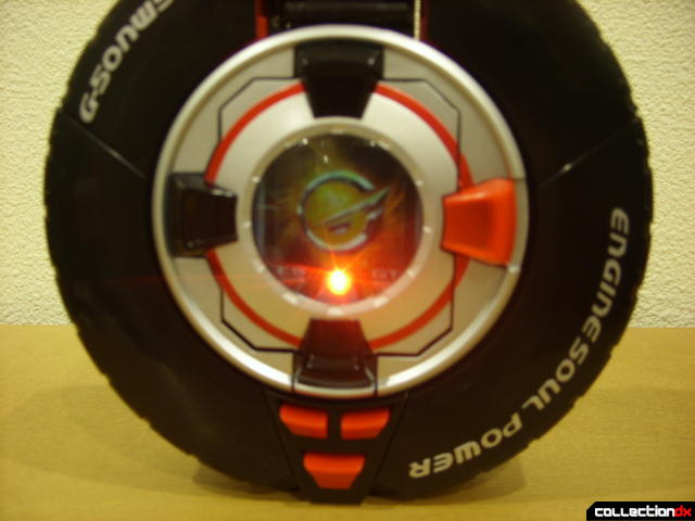 DX Soukou Sharin Go-Roader GT- Wheel Mode (Token Soul lit from within)
