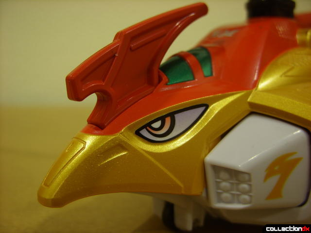 Engine Gattai Series 4- Engine Toripter (head detail)