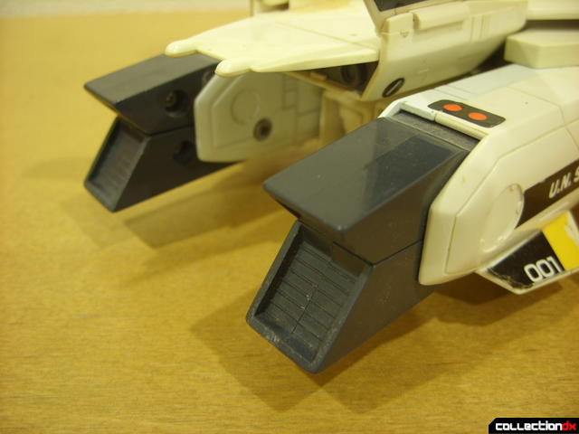 VF-1S Valkyrie - Fighter Mode (exhaust nozzels, closed)