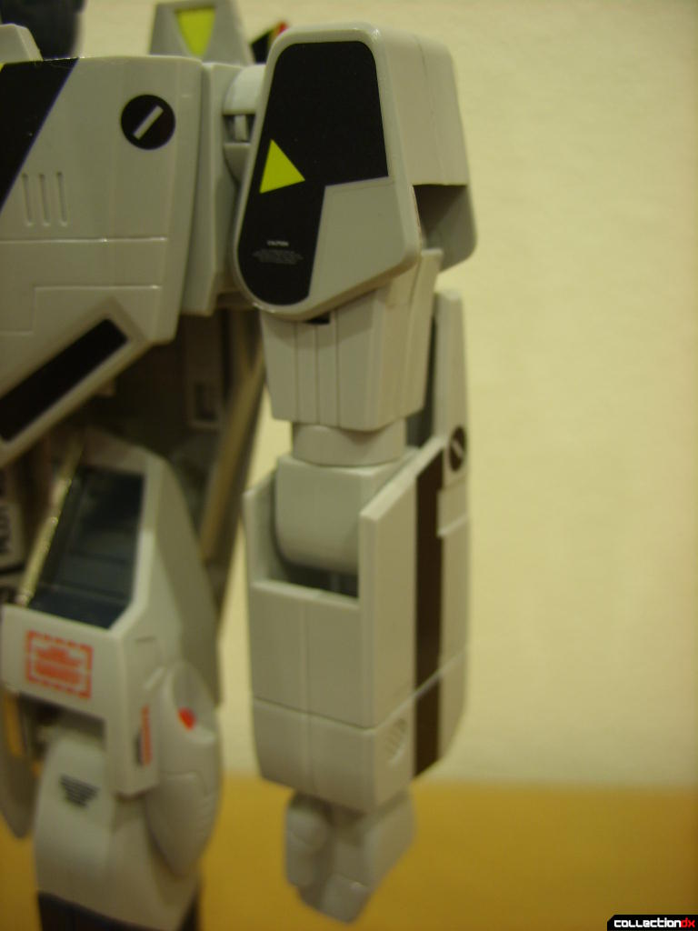 Origin of Valkyrie VF-1S Valkyrie- Battroid Mode (left arm detail)