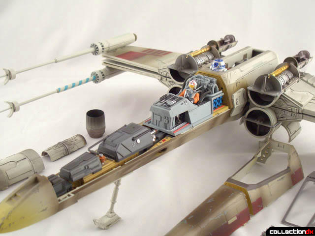 Crosssection 3 D X Wing Set Collectiondx