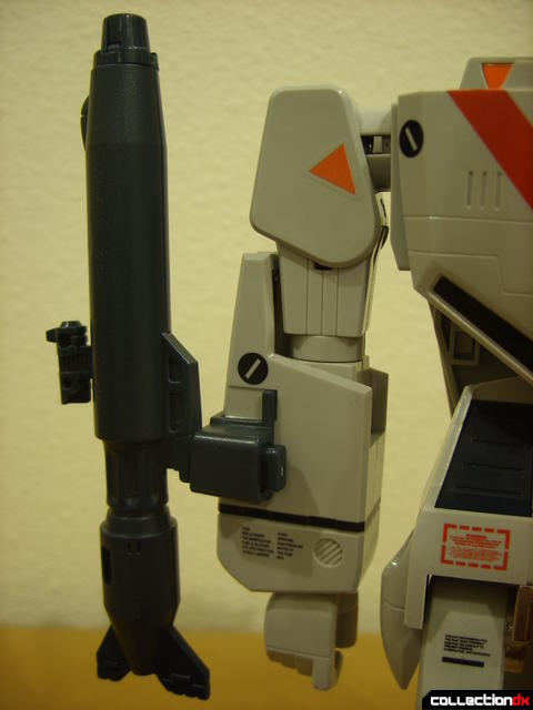 Origin of Valkyrie VF-1J Valkyrie- Battroid Mode (gun pod stored on right arm)
