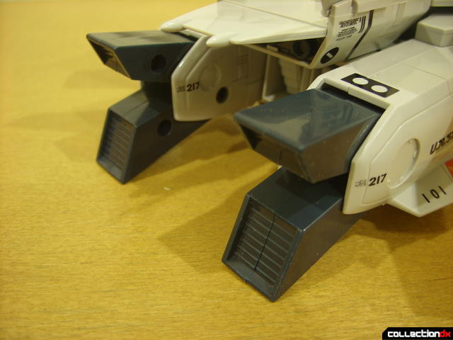 Origin of Valkyrie VF-1J Valkyrie- Fighter Mode (exhaust nozzels, open)