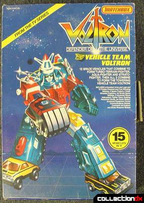 Voltron 1 Deluxe Warrior