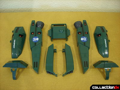 Origin of Valkyrie VF-1A Super Valkyrie Max ver.- Battroid Mode FAST Pack accessory armor