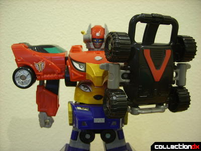 High Octane Megazord (holding shield)