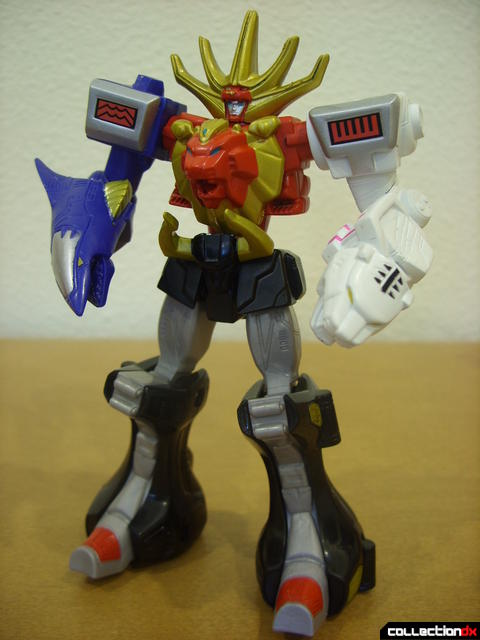 Retrofire Wild Force Megazord (front)