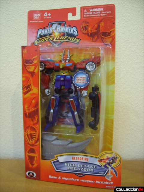 Retrofire High Octane Megazord (box front)