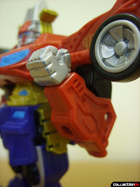 Retrofire High Octane Megazord (left elbow flexed)