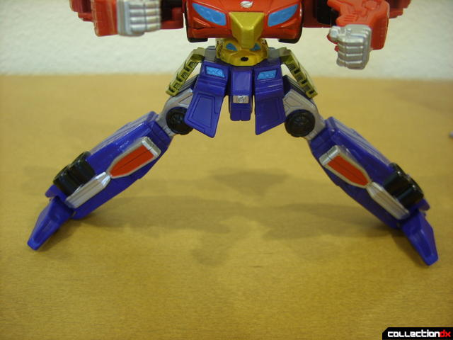 Retrofire High Octane Megazord (legs opened wide)
